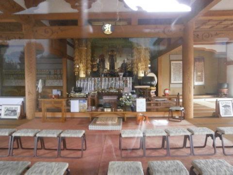 八千代町新長谷寺本堂内