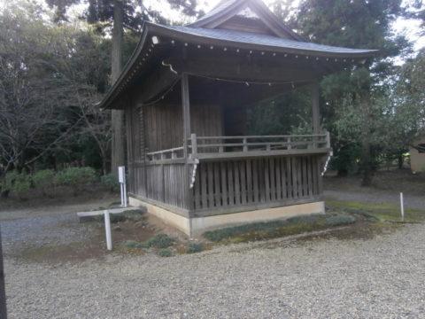 結城市諏訪神社神楽殿