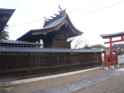 結城市諏訪神社本殿