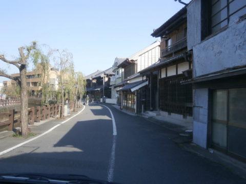 香取市さわらの古い町並み