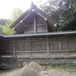 安房神社本殿