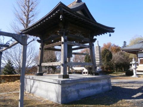 板戸町宝泉寺鐘楼