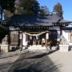 芳賀町祖母井神社拝殿