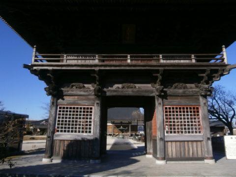 芳賀町高宗時楼門
