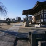 芳賀町高宗時本堂東方向から撮影