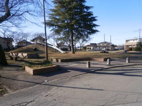 祖母井城跡の公園