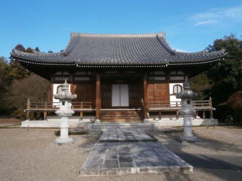 千渡城跡、寶生寺本堂