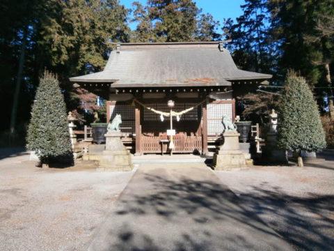 鹿沼市磯山神社拝殿