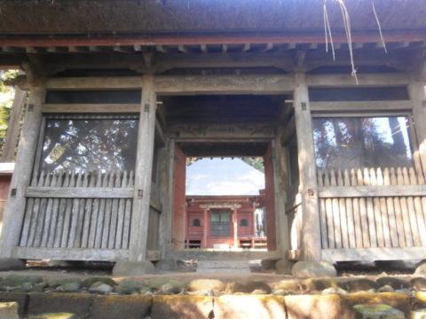 常珍寺楼門