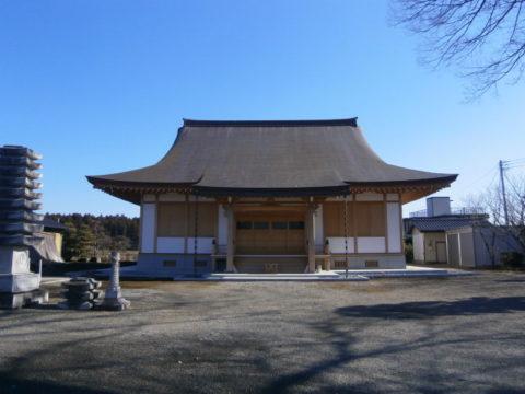 東伝寺本堂