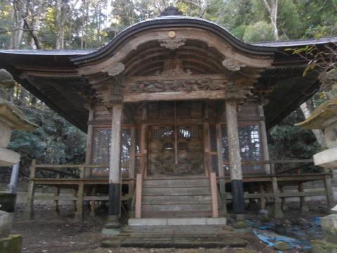 芳賀町長命寺観音堂