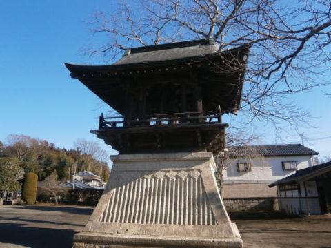 芳賀町延地蔵尊城興寺鐘楼