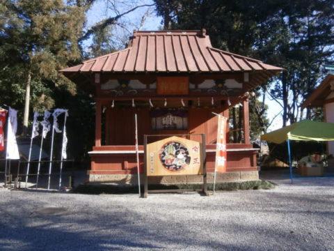 薬師寺八幡神宮神楽殿