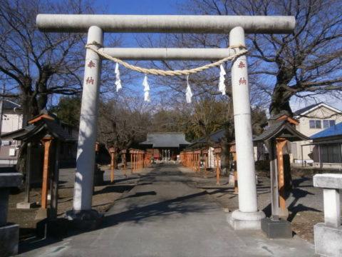 金井神社鳥居下野市