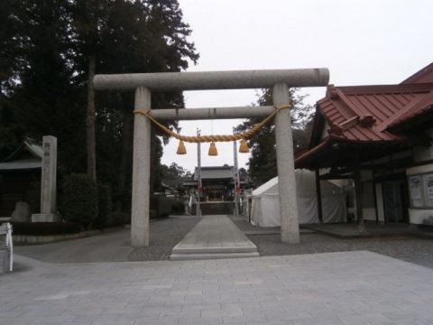 上三川町白鷺神社鳥居