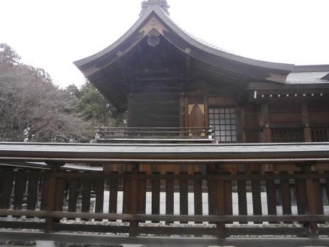 上三川町白鷺神社本殿