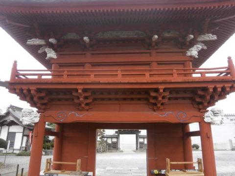 上三川長泉寺楼門