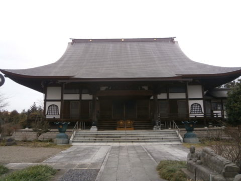 上三川長泉寺本堂